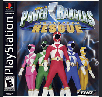دانلود بازی Power Rangers - Lightspeed Rescue کنسول ps1